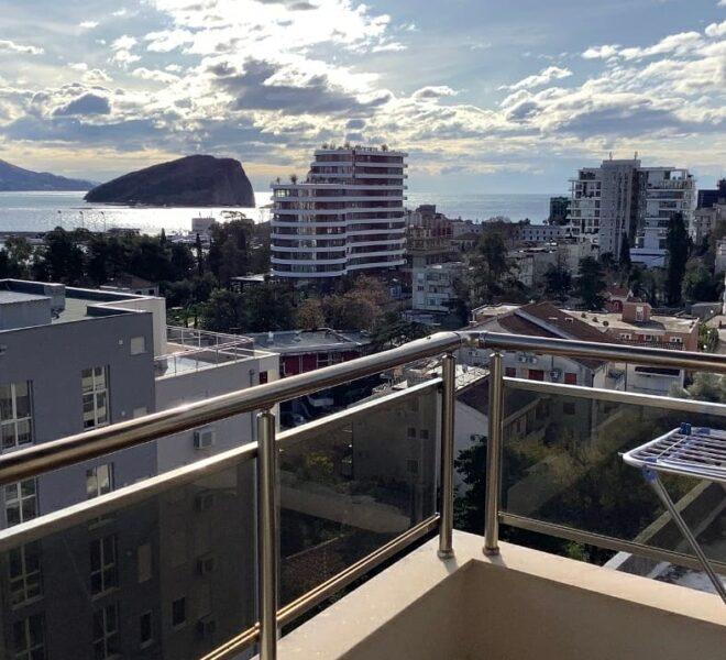 pogled na ostrvo Sveti Nikola
