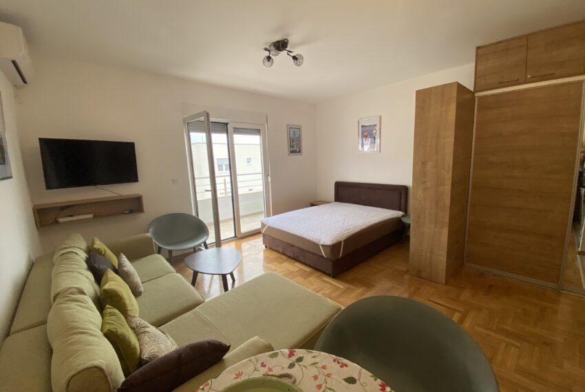 Studio apartman, dnevni i spavaci dio