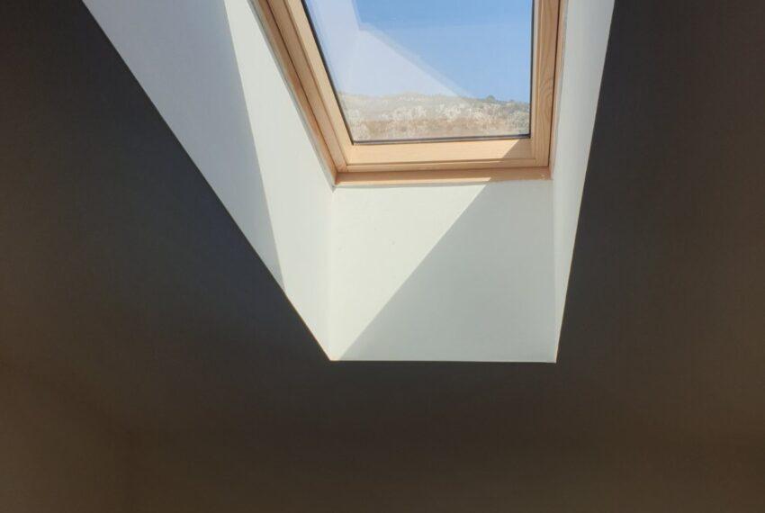 Krovni prozor u spavacoj sobi